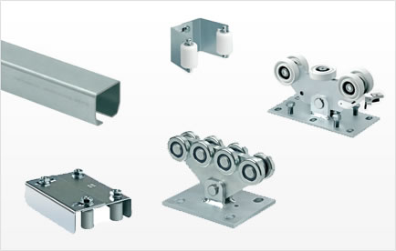 DuraGates carries sliding gate fence hardware manufactured by Comunello