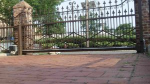 D001 - Ornamental Sliding Gate - 01