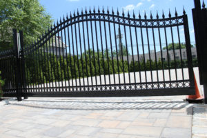 D002 - Bogush Mechanical - Ornamental Steel Sliding Gate 01