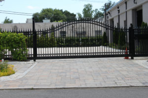D002 - Bogush Mechanical - Ornamental Steel Sliding Gate 11