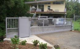 D005 – Aluminum Sliding Gate – 01