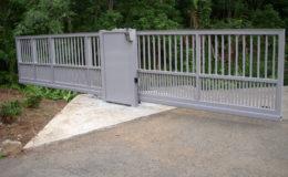 D005 – Aluminum Sliding Gate – 02